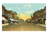 High Street, Jefferson City, Missouri Posters