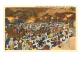 Lunch Room, Carlsbad Caverns, New Mexico Posters