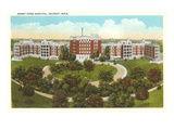 Henry Ford Hospital, Detroit, Michigan Posters