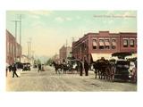Second Street, Kalispell, Montana Prints