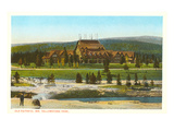 Old Faithful Inn, Yellowstone Park, Montana Prints