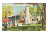 Old Matt's Cabin, Branson, Missouri Poster