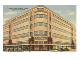 Knapps Department Store, Lansing, Michigan Posters