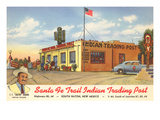 Indian Trading Post, Raton, New Mexico Prints