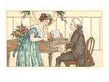 Romance at the Clavier Posters