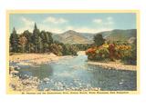 Mt. Pleasant, Ammonoosuc River, New Hampshire Prints