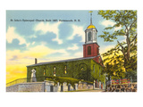Episcopal Church, Portsmouth, New Hampshire Print