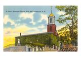 Episcopal Church, Portsmouth, New Hampshire Print