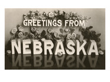 Greetings from Nebraska Prints