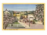 Main Street, Mackinac Island, Michigan Prints