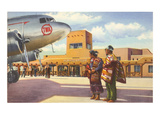 Airport, Albuquerque, New Mexico Prints