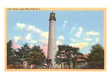 Lighthouse, Cape May, New Jersey Posters