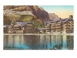 Many Glacier Hotel, Montana Posters