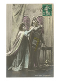 Scene from Lohengrin Poster