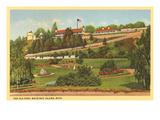 Old Fort, Mackinac Island, Michigan Prints