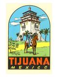 Charro, Agua Caliente, Tijuana, Mexico Prints