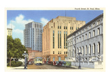 Fourth Street, St. Paul, Minnesota Prints