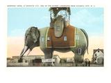 Hôtel Elephant, Atlantic City, New Jersey Poster