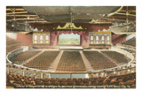 Interior, Convention Hall, Kansas City, Missouri Prints