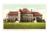 University of Minnesota, Pillsbury Hall, Art Print