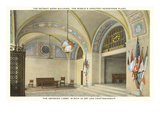 Interior, Detroit News Building, Michigan Prints