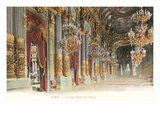 Interior, Paris Opera House, France Prints