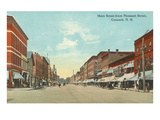 Main Street, Concord, New Hampshire Posters