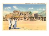 Taos Pueblo, New Mexico Print