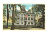 Pierce Mansion, Portsmouth, New Hampshire Prints