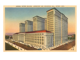 General Motors Building, Detroit, Michigan Prints