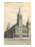 Peddie Memorial Church, Newark, New Jersey Print