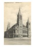 Peddie Memorial Church, Newark, New Jersey Poster