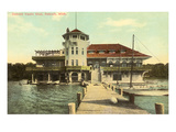 Yacht Club, Detroit, Michigan Posters