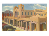 Post Office and Government Building, Santa Fe, New Mexico Poster