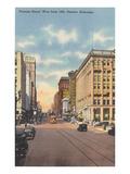Farnam Street, Omaha, Nebraska Poster