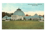 Greenhouse, Belle Isle, Detroit, Michigan Posters