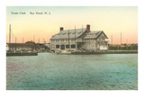 Yacht Club, Bay Head, New Jersey Poster