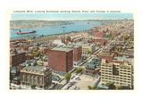 Lafayette Boulevard, Detroit, Michigan Prints