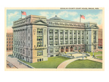 Douglas County Courthouse, Omaha, Nebraska Prints
