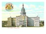 State Capitol, Lansing, Michigan Posters