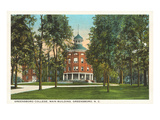 Greensboro College, Main Building, North Carolina Posters