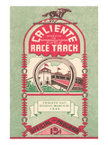 Program from Caliente Racetrack Posters