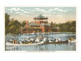 Pavilion, Belle Isle, Detroit, Michigan Prints