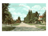 Fourth Avenue, Kalispell, Montana Print