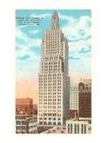 Power and Light Building, Kansas City, Missouri Posters