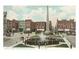 Pack Square, Asheville, North Carolina Prints