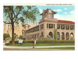 Casino, Belle Isle, Detroit, Michigan Posters