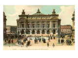 Paris Opera House, France Prints