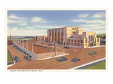 Union Station, Omaha, Nebraska Print