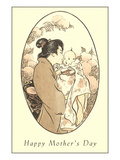 Happy Mothers Day, Japanese Mom Prints